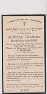 Image Pieuse Religieuse Mortuaire LOON PLAGE  PITGAM DOUCHY 1891 1931 - Devotion Images