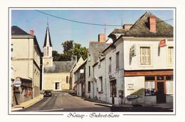 37. NOIZAY . CPM .RARETE. RUE DE L'EGLISE - Other Municipalities