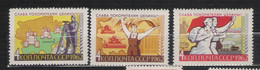 URSS - 1962 - N. 2579/81** (CATALOGO UNIFICATO) - Neufs