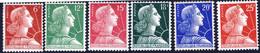 1009A à 1011C  MARIANNE MULLER   NEUF**  ANNEE 1955 - 1955- Marianne Van Muller
