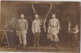 CPA DEPT 16 Carte Photo 1916 Boucherie Du 41eme D'as Camp De La Braconne Les Rasats Militaria - Angouleme