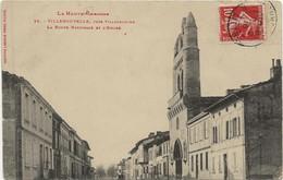 31  VILLENOUVELLE  Prés Villefranche  La Route Nationale - Andere Gemeenten