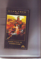 K7 Video VHS - Bon Etat - Star Trek II - La Vengeance De Khan - 108 Mn - Fantascienza E Fanstasy