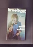 K7 Video Patrick Bruel Tour 90-91 Bon Etat - Concert & Music