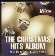 THE CHRISTMAS HITS ALBUM [THE MIRROR PROMOTIONAL PROMO CD] VERY GOOD CONDITION XMAS SONGS MUSIC CAROLS - Kerstmuziek