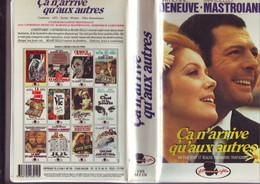 """K7 Cassette Video """" Ca N'arrive Qu'aux Autres """" - Deneuve - Mastroianni - Classic"""