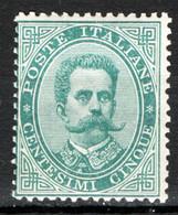 Italia Regno 1879 Sass.37 */MNH VF/F - Ungebraucht