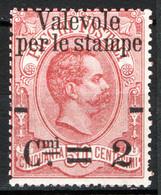 Italia Regno 1890 Sass.52 **/MNH VF/F - Ungebraucht