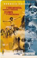 NEW CALEDONIA(chip) - Festival Des Arts Du Pacifique 1, Tirage 10000, 10/00, Used - Neukaledonien