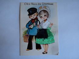 CHEZ  NOUS EN CHAMPAGNE - Ricamate
