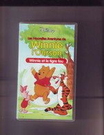K7 Video Vhs Winnie L'ourson - Winnie Et Le Tigre Fou - Dibujos Animados