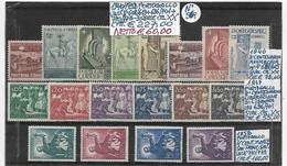 PORTOGALLO **1940/1952, SOGGETTI E ANNI DIVERSI, 3 SERIE COMPLETE - Other