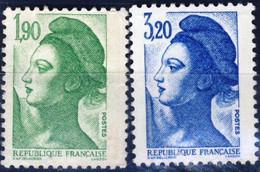 2424 + 2377   LIBERTE De GANDON    NEUF**   ANNEE 1986 - 1982-90 Libertà Di Gandon