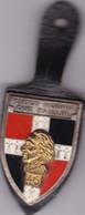 T 3/ PL Milit.4) 6 > Breloque à Identifier En Métal Support Cuir - Other