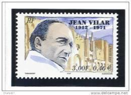 "France 3398  Neuf ** (""Portrait De Jean Vilar"") Cote 1,00€ - Nuovi"
