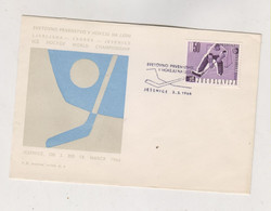 YUGOSLAVIA, JESENICE 1966 Hockey Nice Cover - Covers & Documents