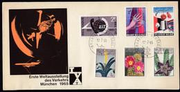 Belgium 1965 / UIT Telephone, Diamant EXPO, Exhibition 'Textirama', Flora, Flowers, Cactus - Briefe U. Dokumente