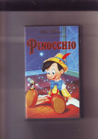 Pinocchio - Walt Disney -K7 VHS Version France - Dibujos Animados