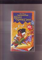 Le Bossu De Notre Dame - Walt Disney -K7 VHS Version France - Dibujos Animados
