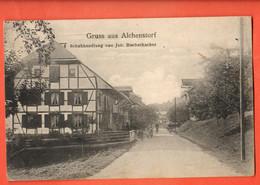 ZBW-06 SELTEN Gruss Aus Alchenstorf  Emmental. Schuhandlung Von Joh. Buchschacher. BELEBT. Gelaufen 1918 Dirkes 9001 - BE Berne