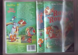 Rox Et Rouky - Walt Disney -K7 VHS Version France - Dibujos Animados