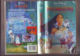 POCAHONTAS - Walt Disney -K7 VHS Version  France - Dibujos Animados