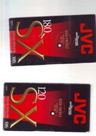 2 Cassettes K7 Videos A Re-enregistrer En Bon état : 1x 120 +1x180 - Other