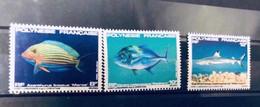 POLYNESIE 1983 Neuf MNH ** YT 192 193 194 Pesce Poisson Fish Pez Fische Polynesie - Peces