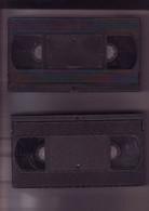 2 Cassettes K7 Videos A Re-enregistrer En Bon état : 2x 180 Mn - Other