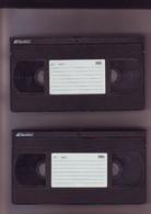 2 Cassettes K7 Videos A Re-enregistrer En Bon état : 2x 240 Mn - Other