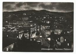 E3729 Salsomaggiore Terme (Parma) - Panorama Notturno Del Paese - Notte Nuit Night Nacht Noche / Viaggiata 1951 - Otras Ciudades