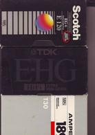3 Cassettes K7 Videos A Re-enregistrer En Bon état : 1x 120 +1x30 +1x180 - Other