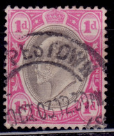 Transvaal 1902-03, King Edward VII, 1p, Scott# 253, Used - Transvaal (1870-1909)