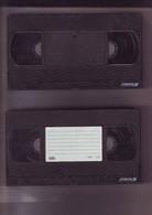 2 Cassettes K7 Videos A Re-enregistrer En Bon état : 2x 120 Mn - Other