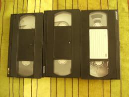 5 Cassettes K7 Videos A Re-enregistrer En Bon état : 2 X 240 Minutes +3x180 Mn - Other