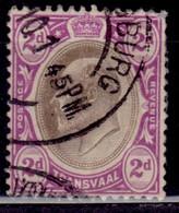 Transvaal 1902-03, King Edward VII, 2p, Scott# 254, Used - Transvaal (1870-1909)