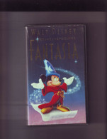 FANTASIA - Walt Disney -K7 VHS Version France - Dibujos Animados
