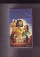 K7 Video VHS -- Le Prince D'Egypte - Dessin Animé Longue Durée - Dibujos Animados