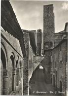 E3738 San Gimignano (Siena) - Via Di San Matteo / Viaggiata 1957 - Other Cities