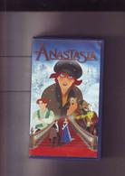 K7 Video VHS -- ANASTASIA - Dessin Animé Long Metrage - Dibujos Animados
