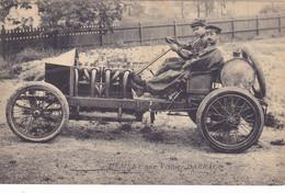 CPA Du Pilote Victor HEMERY ( Sarthe ) Sur Voiture Automobile DARRACQ  Né à Sillé Le Guillaume 1876 Mort Le Mans 1950 - Le Mans