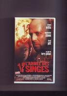 K7 Cassette Video L'armée Des 12 Singes -- Bruce Willis - Madeleine Stowe - Fantascienza E Fanstasy