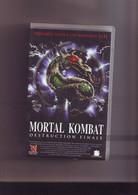 K7 Cassette Video Mortal Kombat Destruction Finale - Fantascienza E Fanstasy