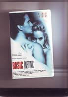 K7 Cassette Video Basic Instinct - Michael Douglas / Sharon Stone - Crime