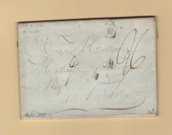 Haiti - Lettre Du Cap Entree Par Bordeaux - 1784  - Griffe Colonies Cintree - Pour Le Havre - 1701-1800: Precursors XVIII