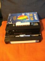 2 Cassettes K7 Videos A Re-enregistrer Bon état:1 X 120 Minutes+1 X 240 Mn - Other