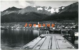 Postcard Foto Santamaria Dock Muelle View Vista Parcial Ushuaia Tierra Del Fuego Patagonia Argentina 1965 - Argentina