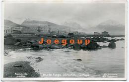 Postcard Foto Kohlmann Beach And View La Playa Ushuaia Tierra Del Fuego Patagonia Argentina - Argentina