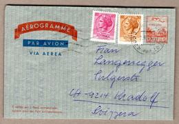 Italie: Aérogramme, Cattolica 7.9.76 Vers La Suisse - Interi Postali