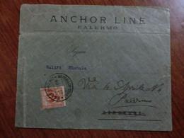 Lettera Del 1909 - Storia Postale